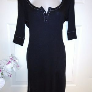 Victoria's Secret Black Knit Dress